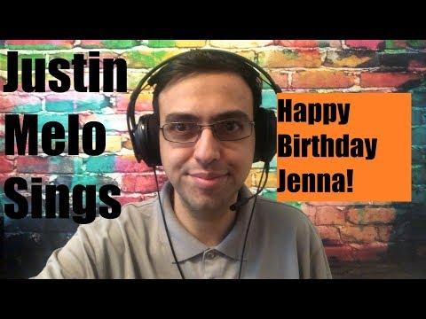 justin-melo-sings:-happy-birthday-jenna!