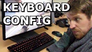 Keyboard VS High Speed Camera