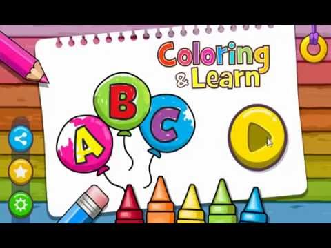 Coloring & Learn 1