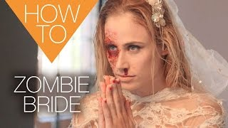 The new zombie bride | HALLOWEEN | HOW TO MAKEUP TUTORIAL
