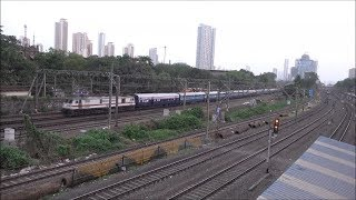 Central & Western Railway's Superfast Express Trains & Mumbai's Magnificient Skyline As Bonus !