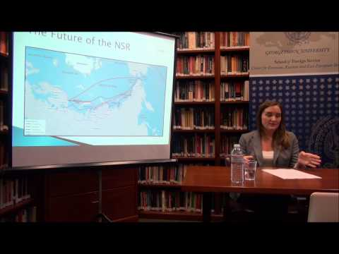 "Capstone ""Russia's Northern Sea Route"" with Jill Tetirick, CERES MA Candidate"
