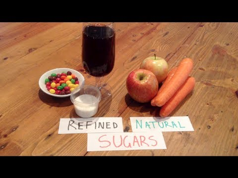 Natural Sugars vs Refined Sugars