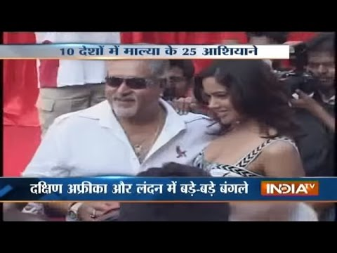 Watch Vijay Mallya's Untouched Wealth Across The World