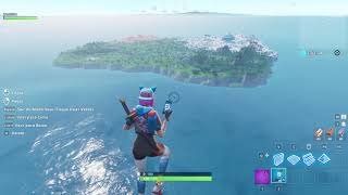 Bug to go to the island of Fortnite in the creative