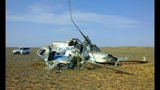 Военный вертолет разбился в Казахстане. Все погибли
