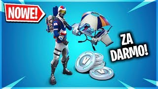HOW TO PICK UP A FREE PACK (SKIN AND V-DOLCE) IN FORTNITE!