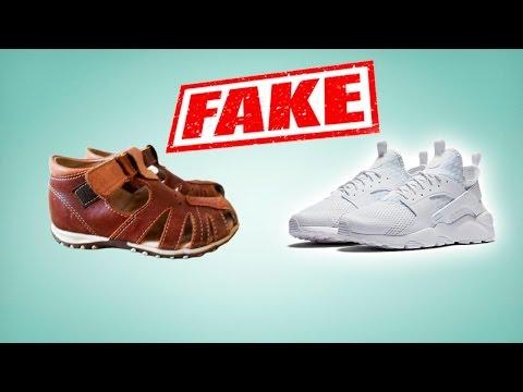 Кроссовки NIKE Air Huarache real vs fake. Как отличить подделку от оригинала