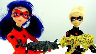 Видео с куклами Леди Баг. Антибаг пришла на фотосессию!