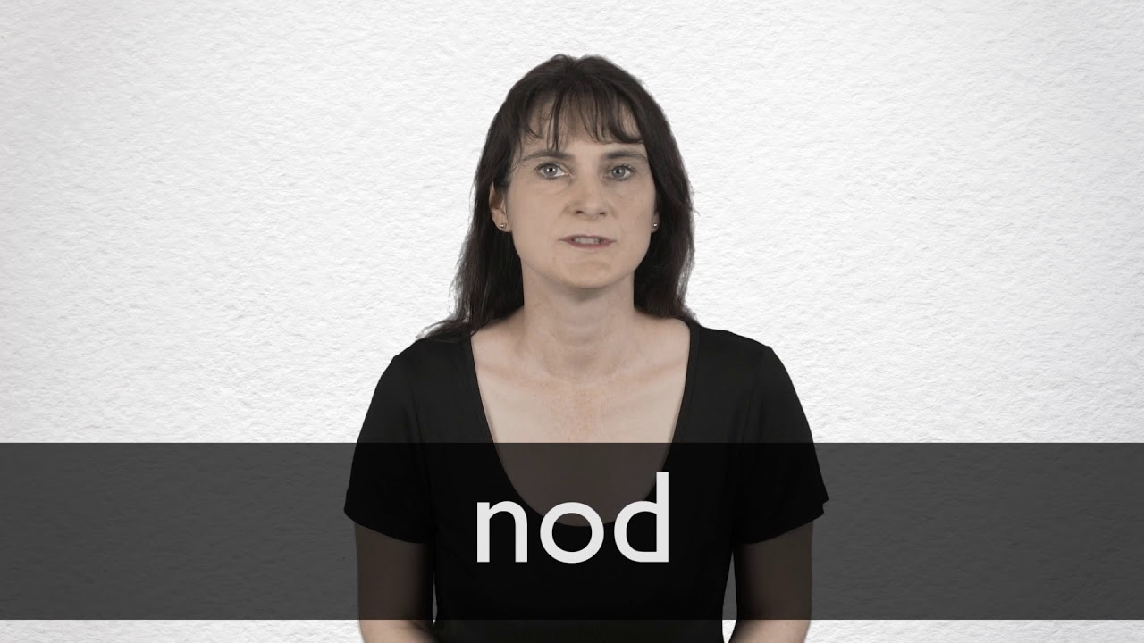Nod Definition And Meaning Collins English Dictionary