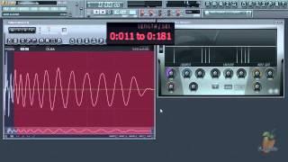 FL STUDIO 10 уроки - Компрессия и анатомия звука