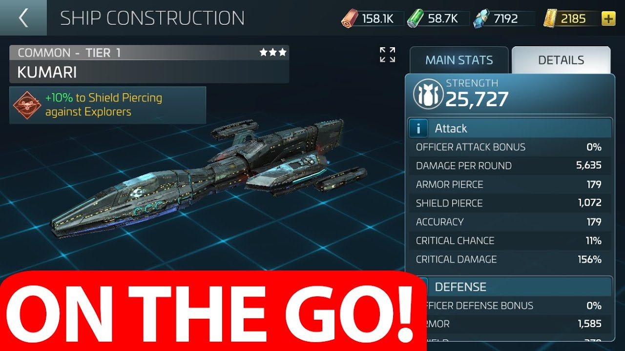 Choosing The Best Raiding Ship (Star Trek Fleet Command)