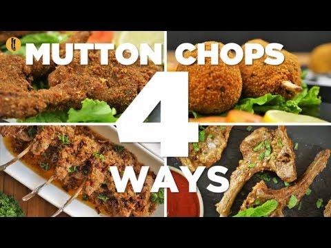 Mutton Chops 4 Ways Recipes