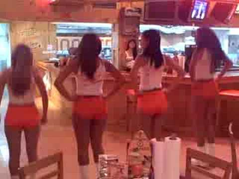 Panama Hooters Dance Routine