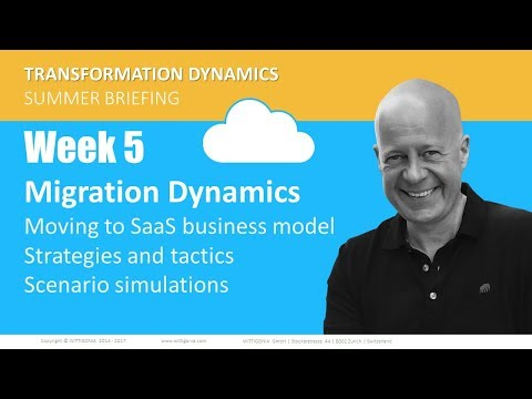 Migration Dynamics | How to safeguard the customer base | Digital transformation | Thomas Wittig