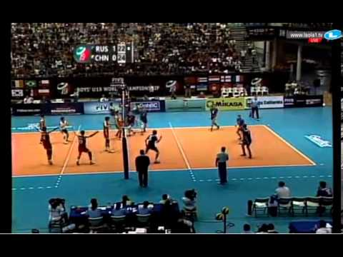 China vs Russia (Final) - 2013 FIVB Boys