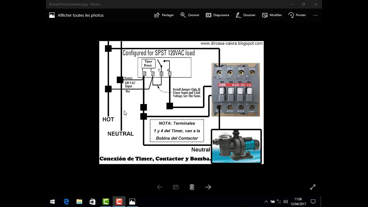 power plant schema cablage
