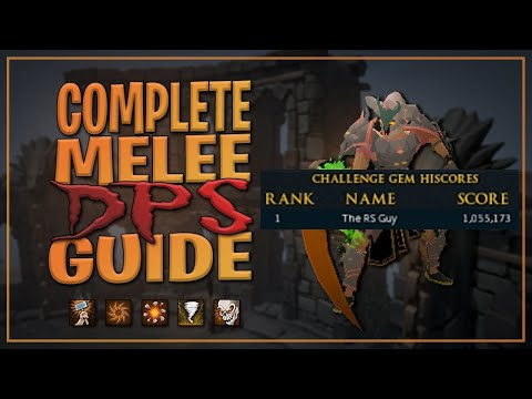 A Guide To Melee DPS Rotations | Runescape 3