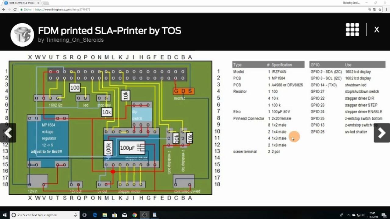DIY: FDM-printed SLA-Printer: Episode 5 - nanodlp shield