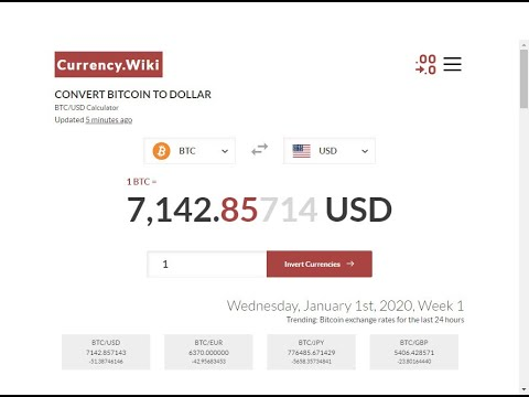 Currency Converter Pro - Bitcoin To Dollar - Decimal Selection - Euro - Dollar