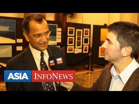 Embajador de India en Argentina Amarendra Kathua (Nota de Pablo Pla)
