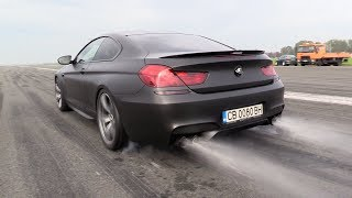 BMW M6 F13 RS800 PP Performance - BRUTAL Akrapovic Exhaust SOUNDS!