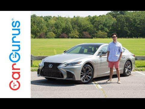 2018 Lexus Ls 500 Cargurus Test Drive Review Youtube