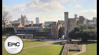Quick City Overview: Cardiff, Wales (HD)