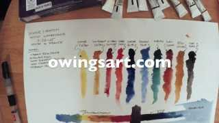 Winsor & Newton Artist Watercolors - Introductory set