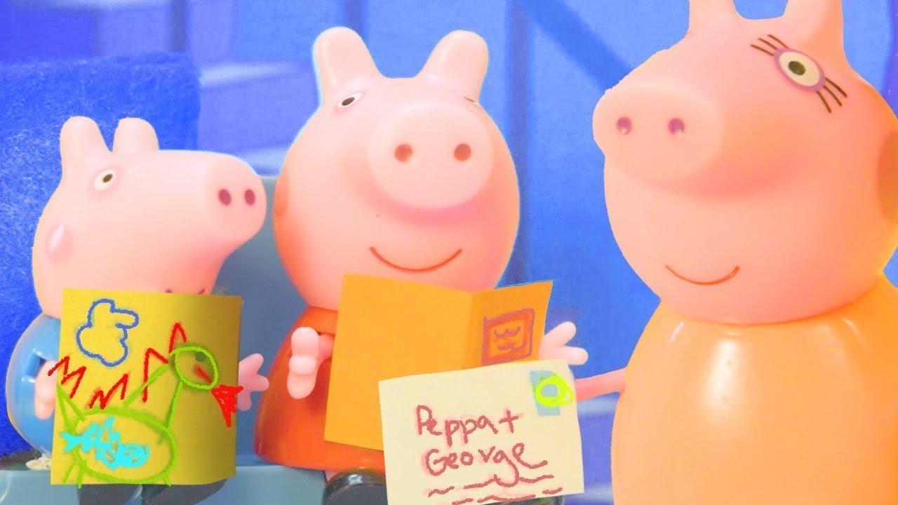 Peppa Pig en Español Juguetes | Amigos por correspondencia | Pepa la cerdita