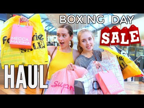 HUGE BOXING DAY SHOPPING SPREE! Come Shop With Me *we Go Crazy On Boxing Day Sales*