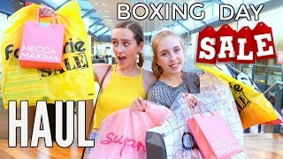 HUGE SALE DAY SHOPPING HAUL! Come Shop With Me *we go crazy on boxing day sales*
