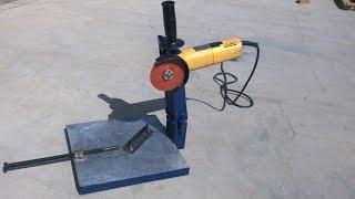 angle Grinder hack 1 how to make grinder stand