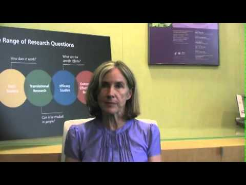 Dr. Catherine Bushnell Speaks About NCCAM's Multidisciplinary Pain Program