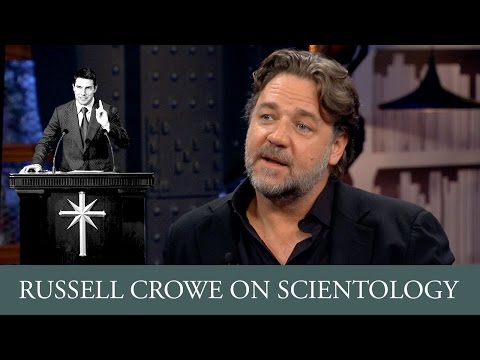 Russell Crowe on Twitter, Scientology and Tom Cruise