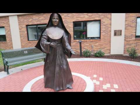 St. Marianne Cope Statue & Garden Unveiled Syracuse NY June 6, 2016