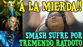 """SMASH Y SU AXE NO PUEDEN AGUANTAR EL ARTE DEL RATDOTO """"FULL UNIDADES"""" - DOTA 2"""