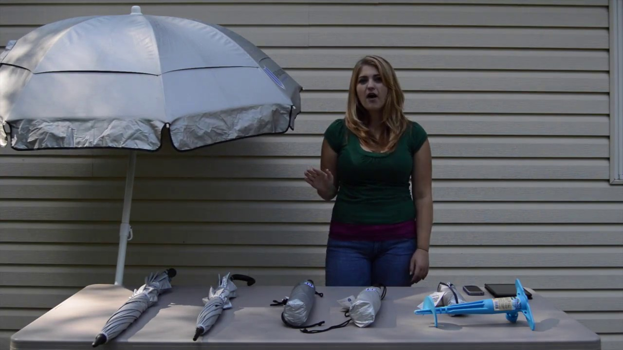 Uv Blocker Personal Beach Umbrella