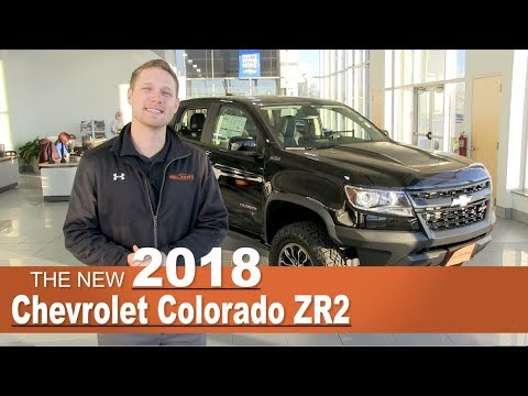 New 2018 Chrevrolet Colorado ZR2 | Lakeville, New Prague, Minneapolis, St Paul, MN | Jeff Belzer
