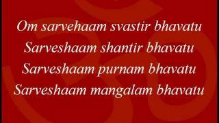 Om Sarve Shaam - Hindu Daily Prayers.wmv