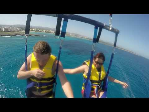 Fishing In Mallorca - Parachute - Octopus - Lizard Fish - 4K