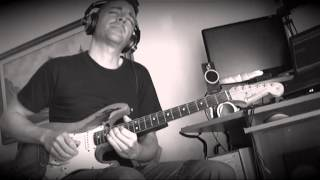 MONSTER RELIC Strat - POD HD 500X  (PINK FLOYD Marooned) Bob Marcellini
