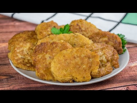 Meat fritters a quick recipe for a spicy taste