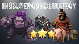 HOW TO LEARN GOHO FOR TH9 | SUPER STRONG 3 STAR STRATEGY | POST UPDATE | CLASH OF CLANS