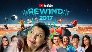 YouTube Rewind The Shape of 2017 (Ютуб Ревайнд) #YouTubeRewind | РЕАКЦИЯ НАДЕЖДЫ на YOUTUBE REWIND