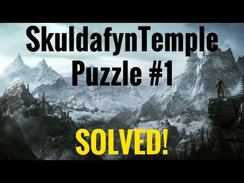 Skyrim REMASTERED -  Skuldafn Temple PUZZLE #1