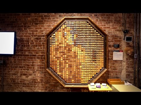 NYU's Interactive Wooden Mirror Project