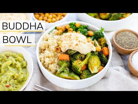 BUDDHA BOWL RECIPE | vegan + family friendly