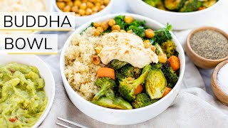 BUDDHA BOWL RECIPE | vegan + family friendly