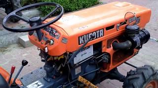 Używane japońskie mini traktorki-ciągniki ogrodnicze.  www.akant-ogrody.pl